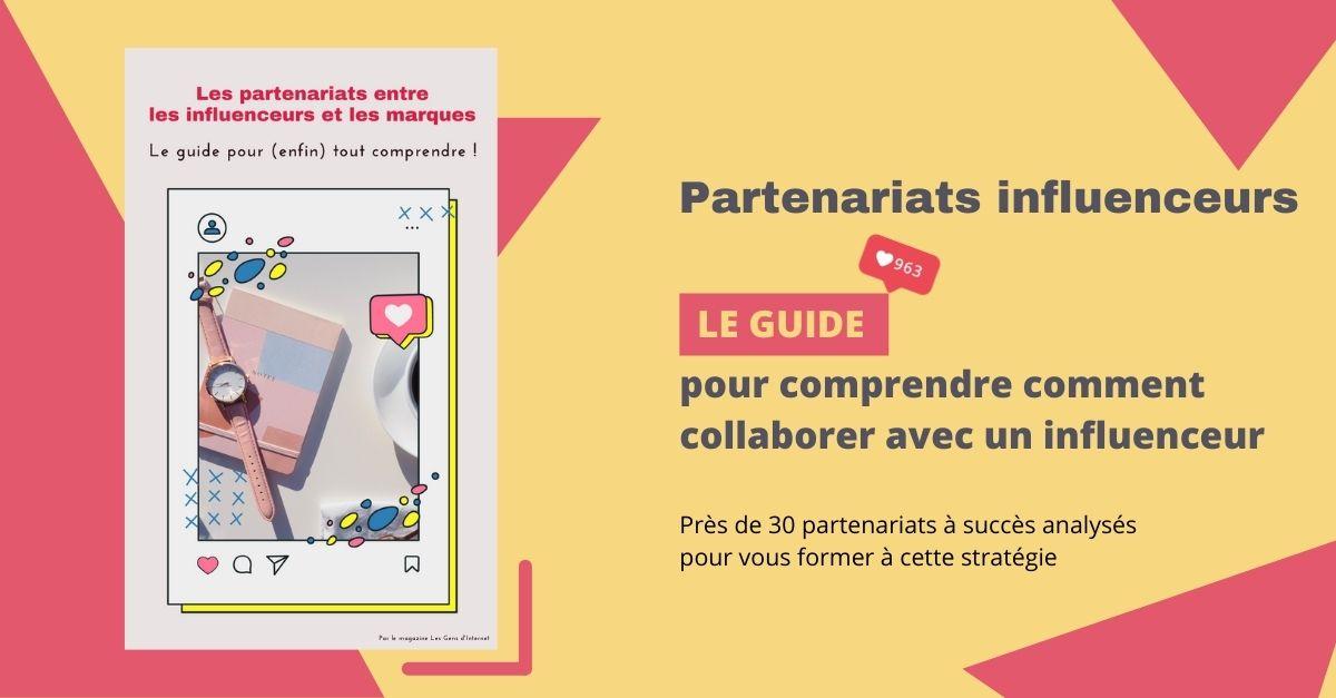 partenariats influenceurs guide