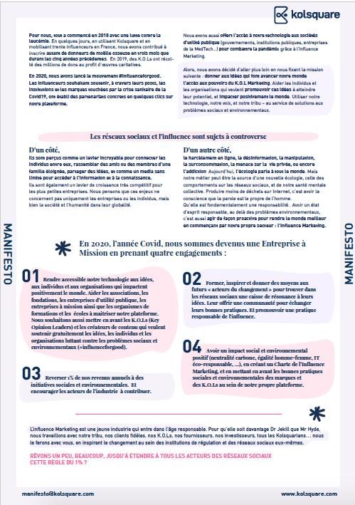 kolsquare manifesto