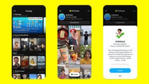 Spotlight Challenges snapchat