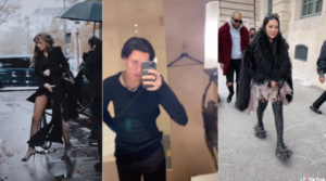 tiktokeurs paris fashion week